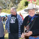 Glenn Howard, Barry Melton & Ramblin Jack Elliott at the Chet Helms memorial concet (Oct 30, 2005)