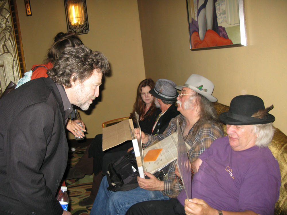 John Perry Barlow, Glenn Allen Howard, and Wavy Gravy