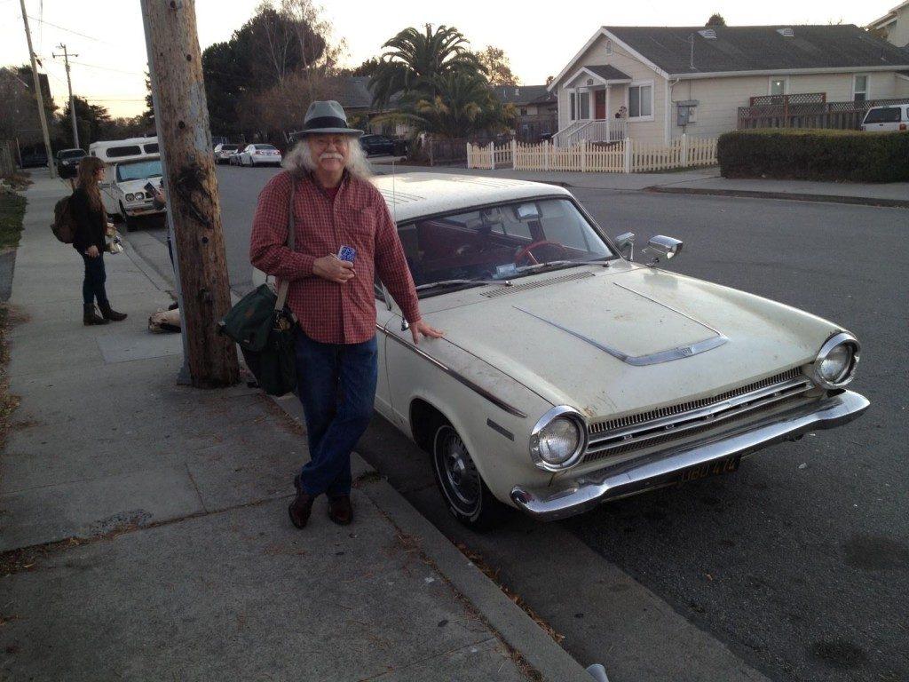 Glenn Allen Howard and car