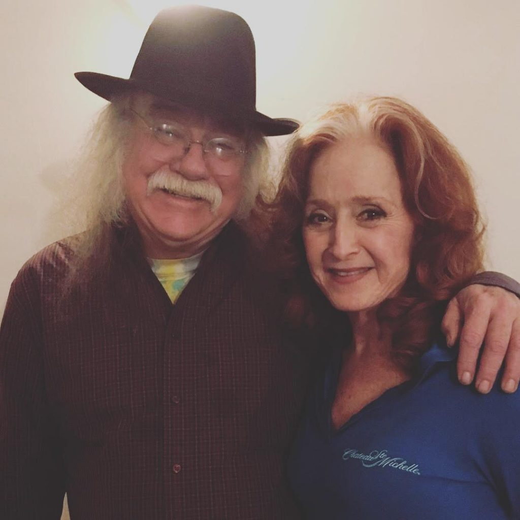 Glenn Allen Howard and Bonnie Raitt
