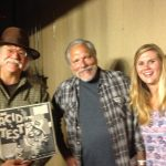 lenn with Jorma Kaukonen and friend
